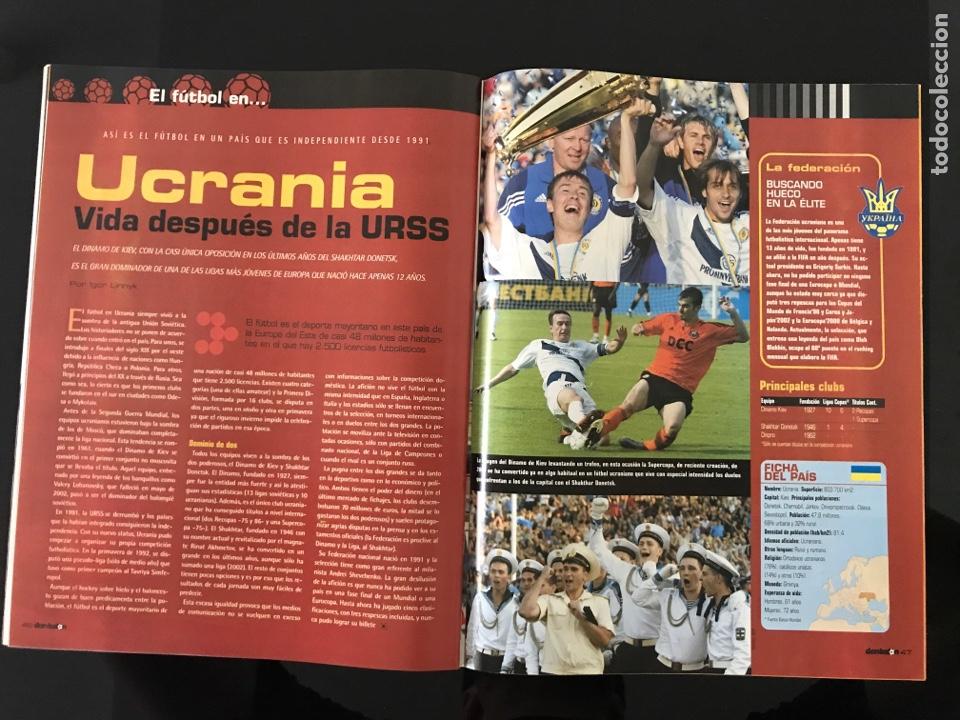 Coleccionismo deportivo: Fútbol don balón 1517 - Poster Espanyol - Atlético - Solari - Damm - Ucrania - Manuel Pablo - Foto 3 - 206249098