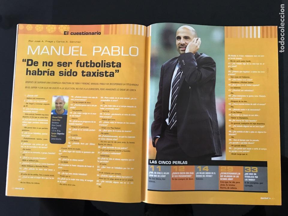 Coleccionismo deportivo: Fútbol don balón 1517 - Poster Espanyol - Atlético - Solari - Damm - Ucrania - Manuel Pablo - Foto 4 - 206249098