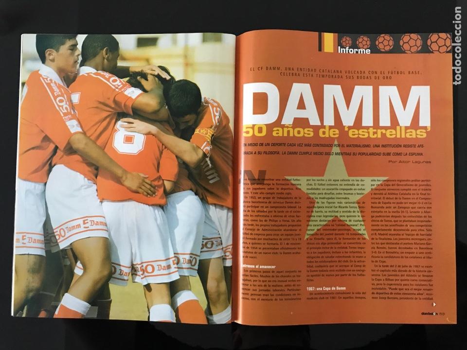 Coleccionismo deportivo: Fútbol don balón 1517 - Poster Espanyol - Atlético - Solari - Damm - Ucrania - Manuel Pablo - Foto 5 - 206249098