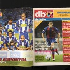 Coleccionismo deportivo: FÚTBOL DON BALÓN 1517 - POSTER ESPANYOL - ATLÉTICO - SOLARI - DAMM - UCRANIA - MANUEL PABLO. Lote 206249098