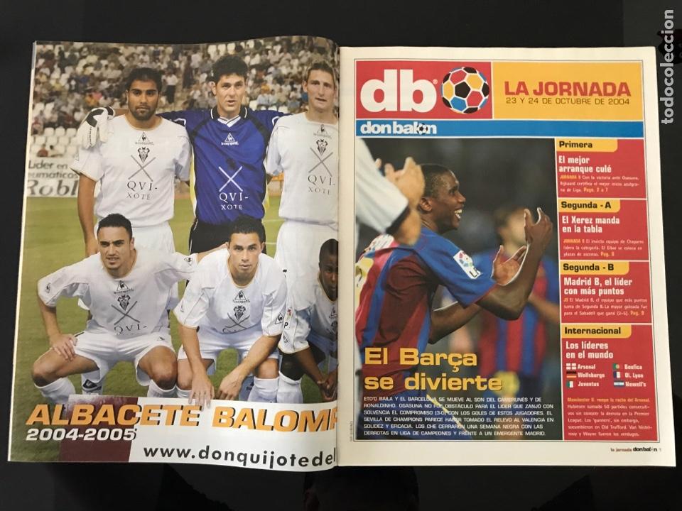 Coleccionismo deportivo: Fútbol don balón 1515 - Poster Albacete - Raúl - Madrid - Forlán - Camerún - Celta - Foto 2 - 206249796
