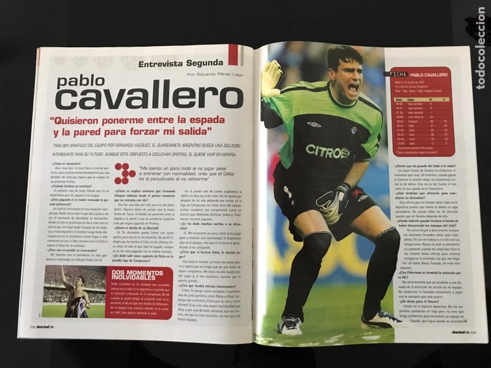Coleccionismo deportivo: Fútbol don balón 1515 - Poster Albacete - Raúl - Madrid - Forlán - Camerún - Celta - Foto 4 - 206249796