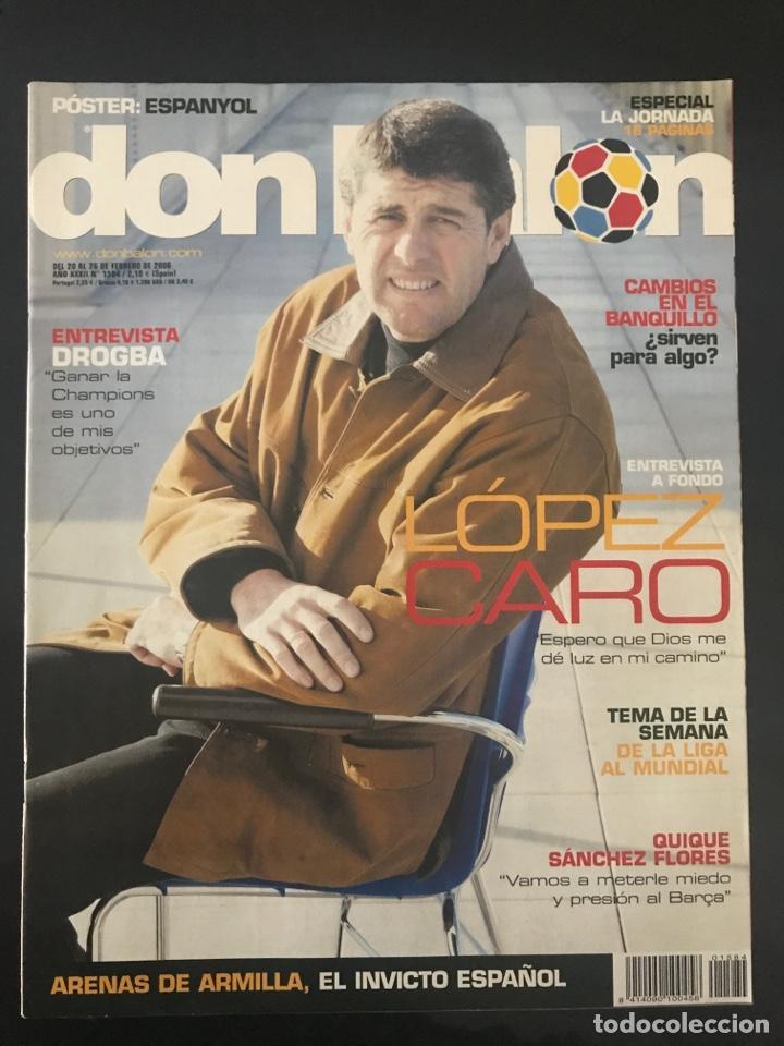 Coleccionismo deportivo: Fútbol don balón 1584 - Poster Espanyol - Agüero - Drogba - Arenas Armilla - Pinillos - Foto 2 - 206261380