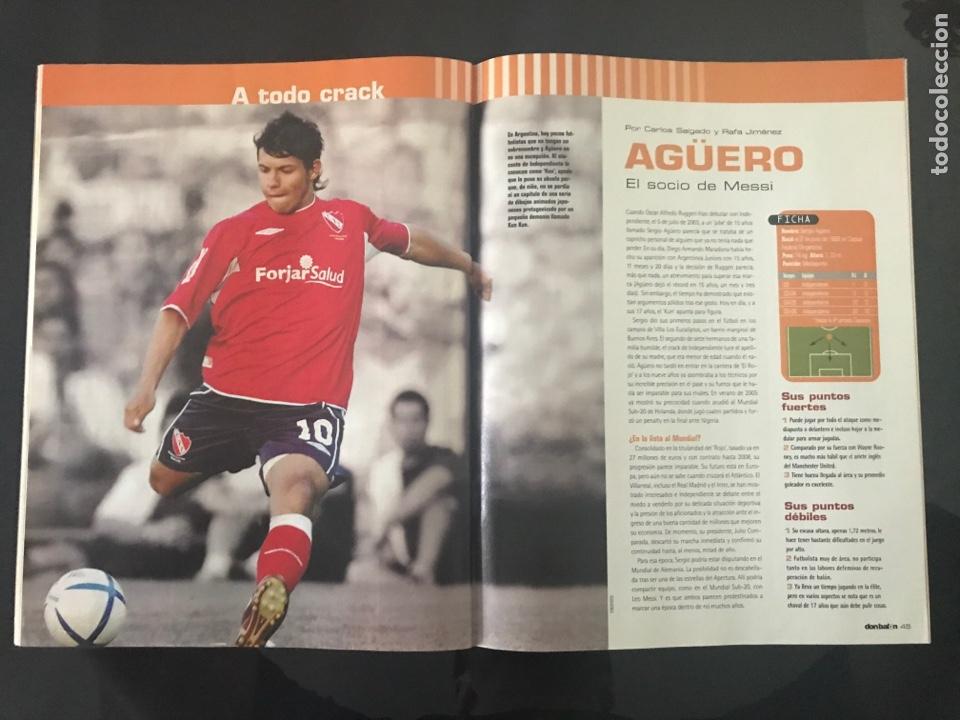 Coleccionismo deportivo: Fútbol don balón 1584 - Poster Espanyol - Agüero - Drogba - Arenas Armilla - Pinillos - Foto 4 - 206261380
