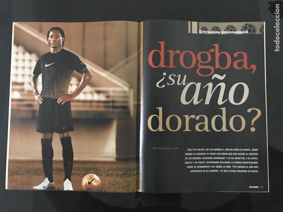 Coleccionismo deportivo: Fútbol don balón 1584 - Poster Espanyol - Agüero - Drogba - Arenas Armilla - Pinillos - Foto 5 - 206261380