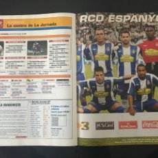 Coleccionismo deportivo: FÚTBOL DON BALÓN 1584 - POSTER ESPANYOL - AGÜERO - DROGBA - ARENAS ARMILLA - PINILLOS. Lote 206261380