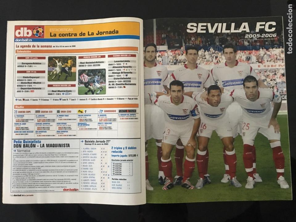 Coleccionismo deportivo: Fútbol don balón 1579 - Poster Sevilla - Barcelona - Alfaro - Marchena - Copa África - Girona - as - Foto 2 - 206266685