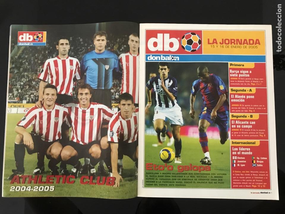 Coleccionismo deportivo: Fútbol don balón 1527 - Espanyol - Poster Athletic - Belletti - Stoichkov - Piqué - Elche - as marca - Foto 2 - 206350297