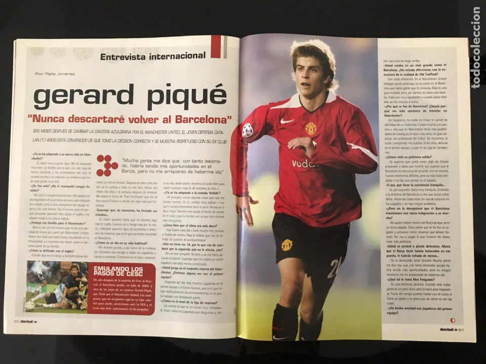 Coleccionismo deportivo: Fútbol don balón 1527 - Espanyol - Poster Athletic - Belletti - Stoichkov - Piqué - Elche - as marca - Foto 5 - 206350297
