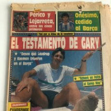 Coleccionismo deportivo: SPORT NUM 3489 22 JULIO 1989 GARY LINEKER PERICO DELGADO. Lote 206395097