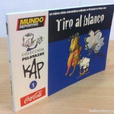 Coleccionismo deportivo: FÚTBOL PELOTAZOS Nº 1 - TIRO AL BLANCO (2007), POR KAP. CHISTES ANTIMADRIDISTAS PUBLICADOS POR MD. Lote 53741168
