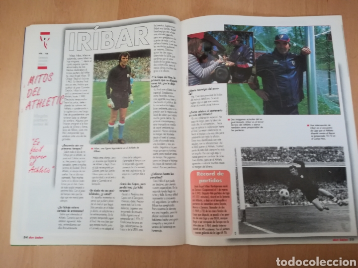 Coleccionismo deportivo: Don Balón CENTENARIO DEL ATHLETIC (1898-1998). Edición Especial. - Foto 5 - 206458616