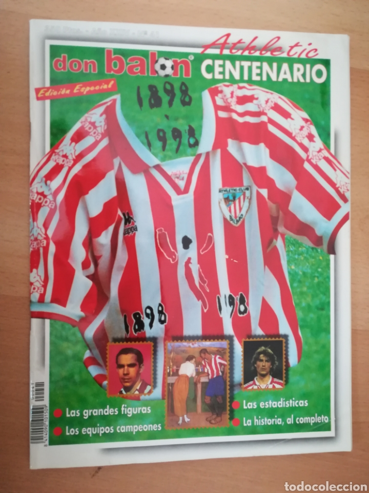DON BALÓN CENTENARIO DEL ATHLETIC (1898-1998). EDICIÓN ESPECIAL. (Coleccionismo Deportivo - Revistas y Periódicos - Don Balón)