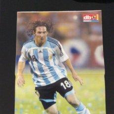 Coleccionismo deportivo: FÚTBOL DON BALÓN 1657 - POSTER MESSI - SAVIOLA - ANDRÉS MONTES - RAUL GARCÍA - BRASIL CAMPEÓN. Lote 206512288