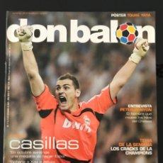 Coleccionismo deportivo: FÚTBOL DON BALÓN 1666 - POSTER Y. TOURÉ - CASILLAS - CHAMPIONS - MARADONA - ESPAÑA - BARÇA - MARCA. Lote 206556498