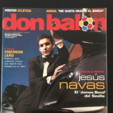 Coleccionismo deportivo: FÚTBOL DON BALÓN 1631 - POSTER ATLÉTICO - NAVAS SEVILLA - MADRID - RACING - DEPORTIVO - VASOVIC - AS. Lote 206564665