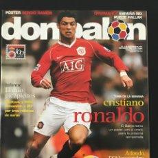 Coleccionismo deportivo: FÚTBOL DON BALÓN 1640 - POSTER RAMOS - C. RONALDO - ZARAGOZA - LEVANTE - CHILE - GIMNASTICA TORRELA. Lote 206565400
