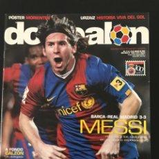 Coleccionismo deportivo: FÚTBOL DON BALÓN 1639 - MESSI - POSTER MORIENTES - SEVILLA - ATHLETIC - VILLALONGA - CELTA - MADRID. Lote 206565998
