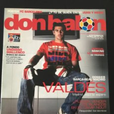 Coleccionismo deportivo: FÚTBOL DON BALÓN 1638 - POSTER BARCELONA - MADRID - MUTU - GETAFE - SALGADO - VALDÉS - AS MARCA. Lote 206566503