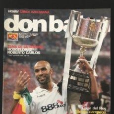 Coleccionismo deportivo: FÚTBOL DON BALÓN 1654 - SEVILLA CAMPEÓN UEFA POSTER - R. CARLOS - STOICHKOV - PORTEROS - BOCA. Lote 206571363