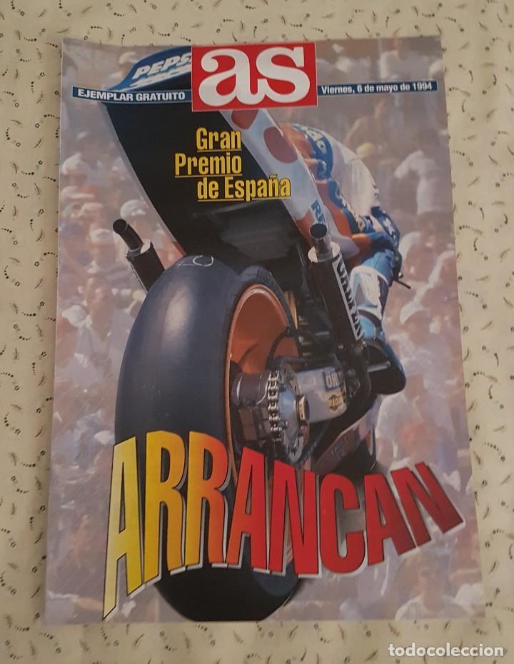 AS ESPECIAL GRAN PREMIO DE ESPAÑA DE MOTOCICLISMO 1994 (Coleccionismo Deportivo - Revistas y Periódicos - As)