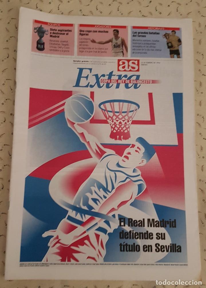 AS EXTRA COPA DEL REY DE BALONCESTO 1994. (Coleccionismo Deportivo - Revistas y Periódicos - As)
