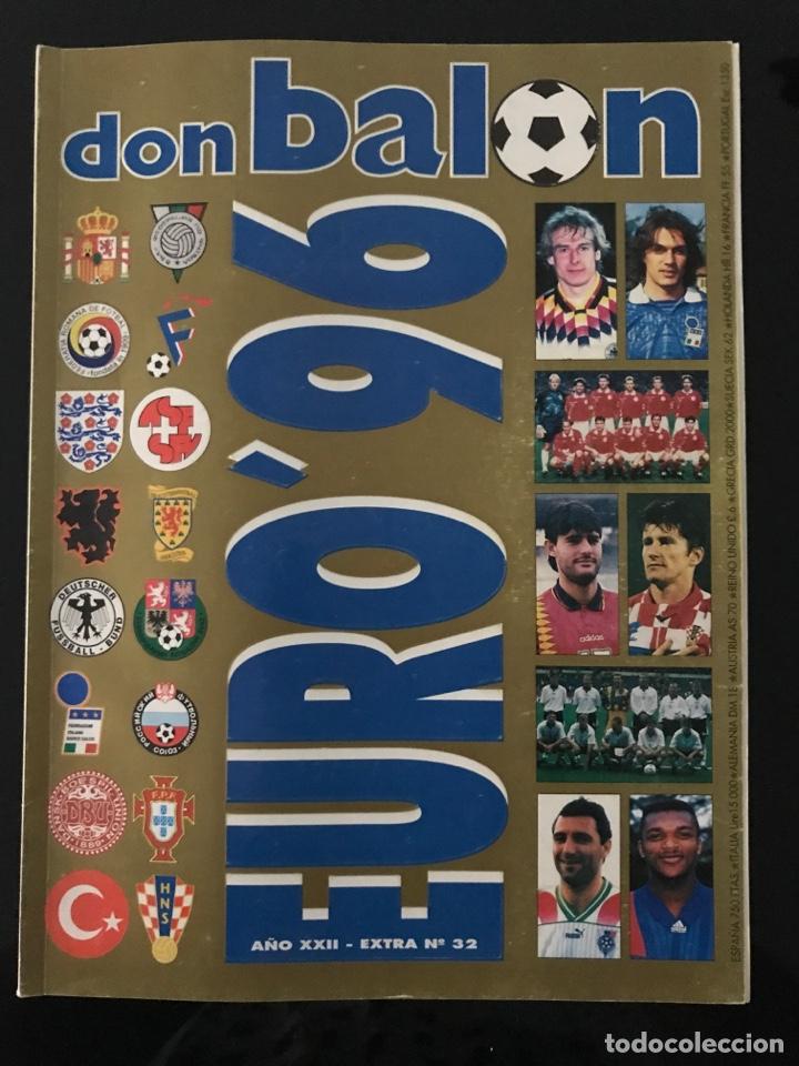 FÚTBOL DON BALÓN EXTRA 32 - EUROCOPA INGLATERRA 96/1996 - AS MARCA CROMO ÁLBUM SPORT (Coleccionismo Deportivo - Revistas y Periódicos - Don Balón)