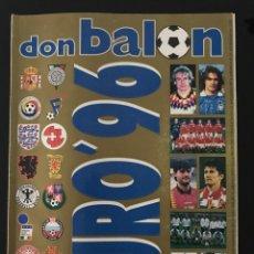 Coleccionismo deportivo: FÚTBOL DON BALÓN EXTRA 32 - EUROCOPA INGLATERRA 96/1996 - AS MARCA CROMO ÁLBUM SPORT. Lote 206932697
