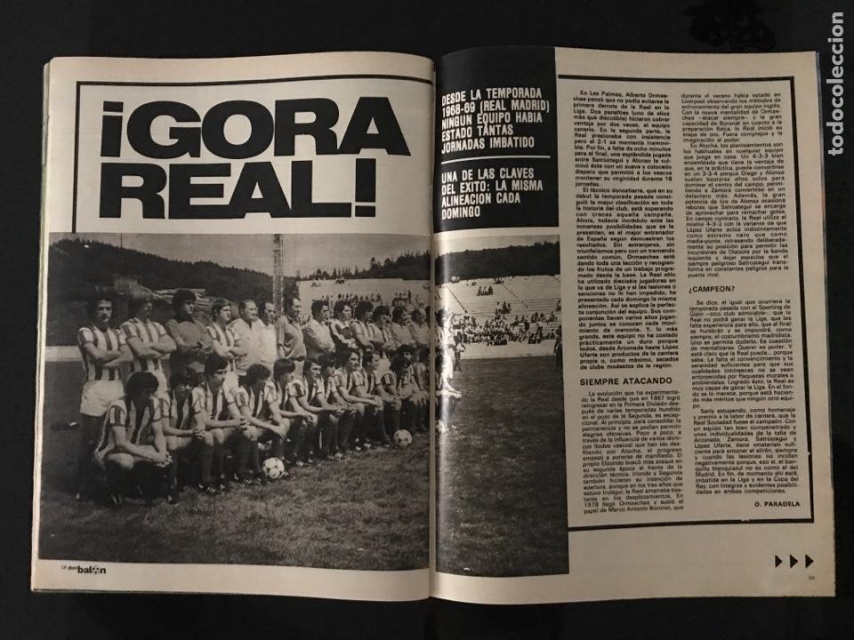 Coleccionismo deportivo: Fútbol don balón 226 - Real Sociedad - Kempes - Quini - Arias - Elche - Eurocopa 80 - Ormaechea - Foto 2 - 206933688