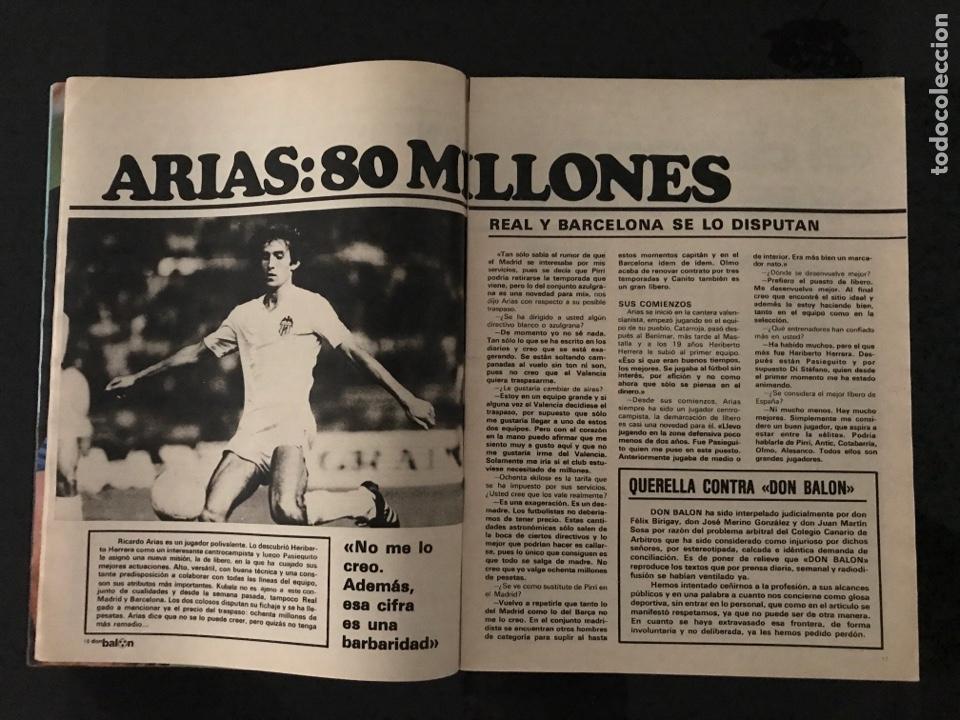 Coleccionismo deportivo: Fútbol don balón 226 - Real Sociedad - Kempes - Quini - Arias - Elche - Eurocopa 80 - Ormaechea - Foto 5 - 206933688