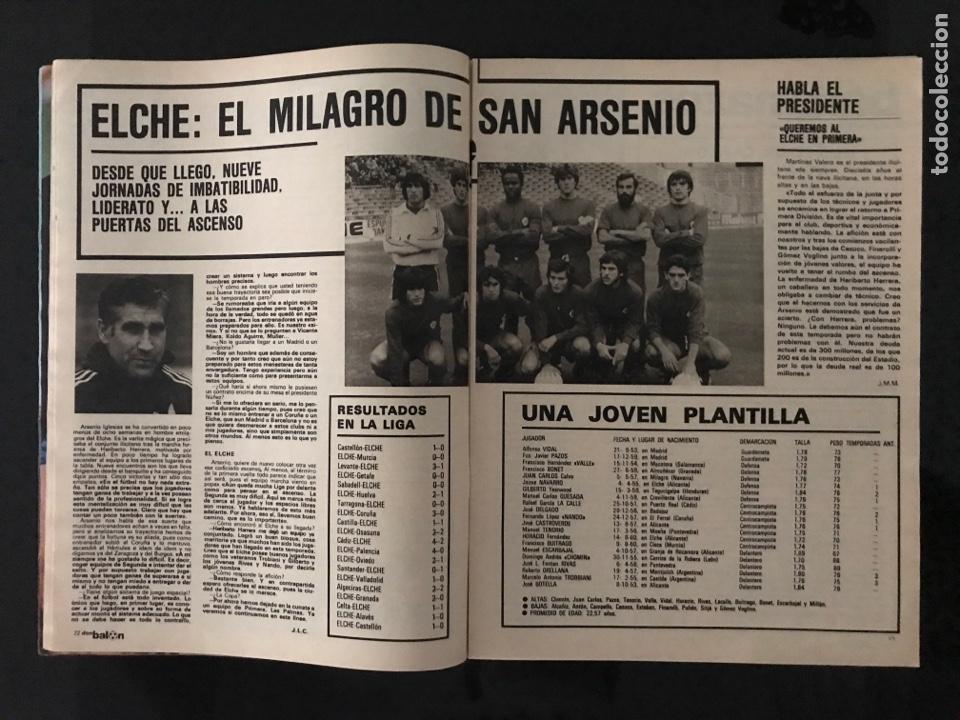 Coleccionismo deportivo: Fútbol don balón 226 - Real Sociedad - Kempes - Quini - Arias - Elche - Eurocopa 80 - Ormaechea - Foto 6 - 206933688
