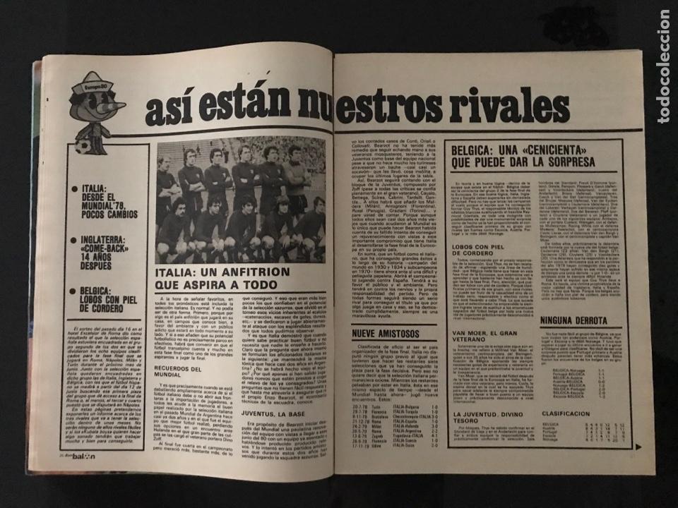 Coleccionismo deportivo: Fútbol don balón 226 - Real Sociedad - Kempes - Quini - Arias - Elche - Eurocopa 80 - Ormaechea - Foto 7 - 206933688