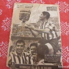 Collectionnisme sportif: VIDA DEPORTIVA Nº 562(25-6-1956)!!!ATH.CLUB DE BILBAO CAMPEÓN COPA!!! 2 GOLES AL AT.MADRID. Lote 206968708