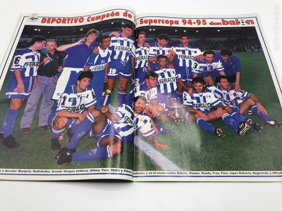 Coleccionismo deportivo: REVISTA DON BALON NÚMERO 1038 SEPTIEMBRE 1995 POSTER DEPORTIVO CAMPEON SUPERCOPA RADUCIOIU ESPAÑOL - Foto 4 - 206970965