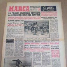 Coleccionismo deportivo: MARCA-4/3/60-BRAVO BARCELONA DICE EL DAILI MAIL,LOS LOBOS FUERON ELIMINADOS,EL WOLVERHAMPTON NO REBA. Lote 207003211