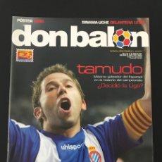Colecionismo desportivo: FÚTBOL DON BALÓN 1652 - POSTER CESC - TAMUDO ESPANYOL - RECREATIVO - OVIEDO - OSASUNA - SALAMANCA. Lote 207111940