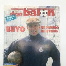 Coleccionismo deportivo: REVISTA DON BALÓN NÚMERO 988 4-10 OCTUBRE 1994 BUYO MAZINHO RADUCIOIU PÓSTER RCD ESPAÑOL. Lote 207124205