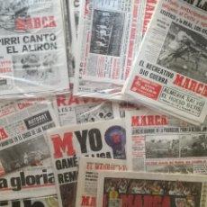 Coleccionismo deportivo: COLECCIÓN COMPLETA 32 LIGAS BLANCAS REAL MADRID - DIARIO MARCA REPLICA FACSIMIL CAMPEON LIGA. Lote 207154020