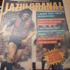 Coleccionismo deportivo: DIARIO SPORT 29 DE MAYO DE 1982 MARADONA AZULGRANA . FIRMARA 6 AÑOS POR 500 MILLONES. Lote 207202566