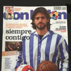 Coleccionismo deportivo: FÚTBOL DON BALÓN 1764 - POSTER MESSI - JARQUE ESPANYOL - MADRID - VILLARREAL - ROMARIO - LAURIDSEN. Lote 207208405