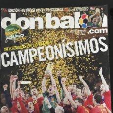 Coleccionismo deportivo: FÚTBOL DON BALÓN 1811 - ESPECIAL ESPAÑA CAMPEÓN MUNDIAL 2010 - POSTER - ALBUM FOTOS - CROMOS - MARCA. Lote 207214283