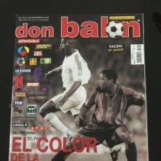 Coleccionismo deportivo: FÚTBOL DON BALÓN 1414 - POSTER RACING - DEPORTIVO - ROONEY - BULGARIA - COPAS EUROPEAS. Lote 207223055