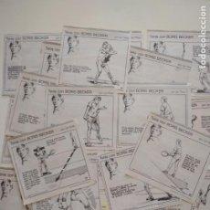 Coleccionismo deportivo: RECORTES DE LA SERIE TENIS CON BORIS BECKER POR ION TIRIAC DE MUNDO DEPORTIVO. Lote 207249422