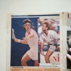 Coleccionismo deportivo: RECORTES PRENSA MUNDO DEPORTIVO TENIS OPEN USA ARANCHA AGASSI SELES EDBERG ATP. Lote 207249551