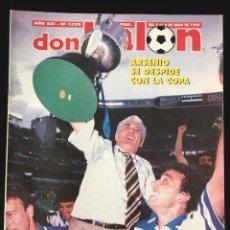 Coleccionismo deportivo: FÚTBOL DON BALÓN 1029 - DEPORTIVO CAMPEÓN COPA POSTER - DE LA PEÑA - JUNINHO - COPA AMERICA - MARCA. Lote 207270540