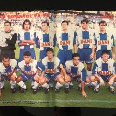 Coleccionismo deportivo: FÚTBOL DON BALÓN 1049 - POSTER ESPANYOL - MADRID - ATLÉTICO - TENERIFE - SEVILLA - ESPAÑA - BIERHOFF. Lote 207272205
