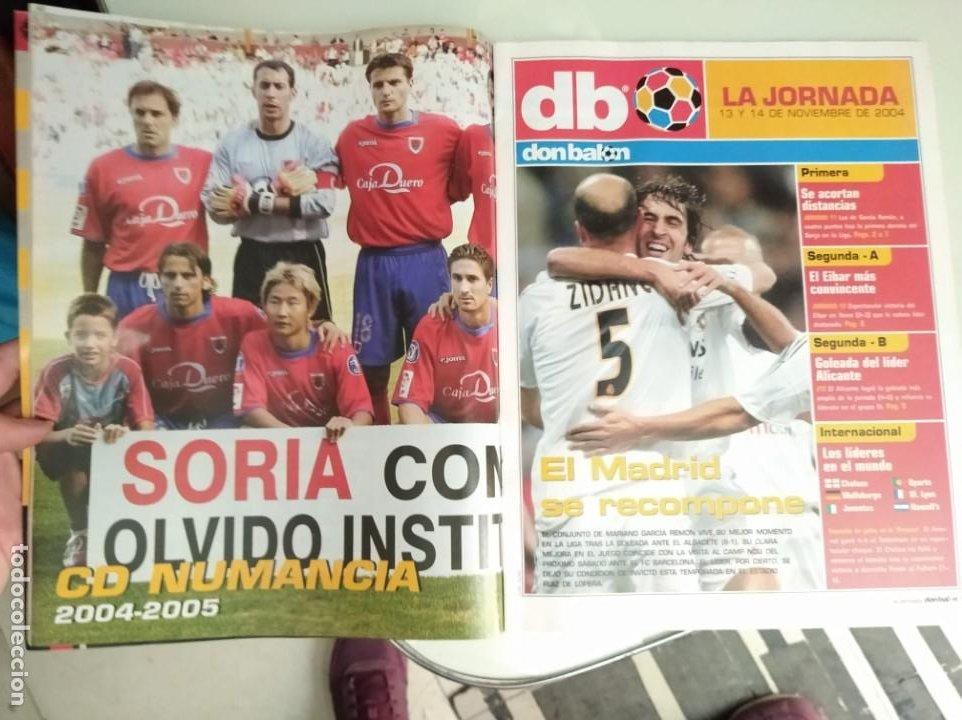 Coleccionismo deportivo: REVISTA DON BALON, BARCA -REAL MADRID, A VER SI ME PILLAS - Foto 6 - 163743830