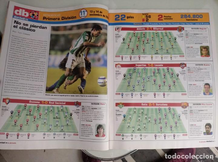 Coleccionismo deportivo: REVISTA DON BALON, BARCA -REAL MADRID, A VER SI ME PILLAS - Foto 8 - 163743830