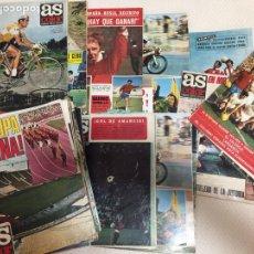 Coleccionismo deportivo: AS SEMANAL LOTE DE 70 EJEMPLARES DE LOS AÑOS 70. Lote 207375653