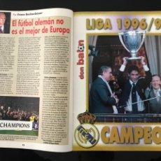 Coleccionismo deportivo: FÚTBOL DON BALÓN 1132 - POSTER Y ESPECIAL MADRID CAMPEÓN LIGA - BETIS - ATHLETIC - SALAMANCA - MARCA. Lote 207381678